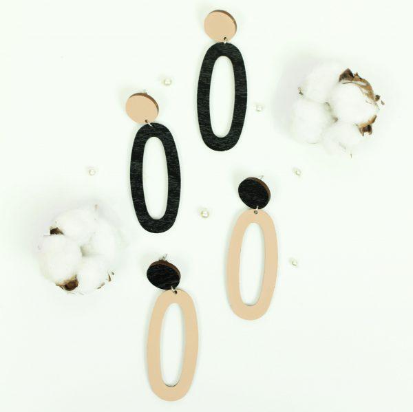 musta beiget ovaalit
