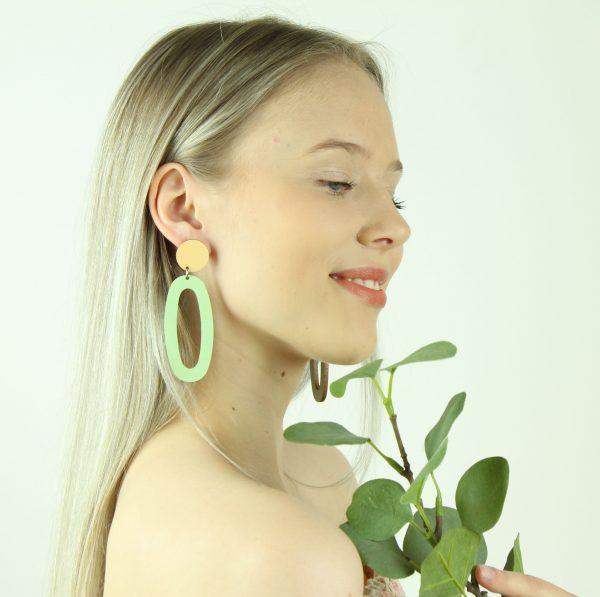 vihreä ovaali malli